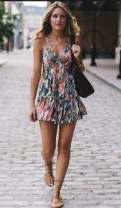 φόρεμα φλοράλ