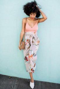 φλοράλ παντελόνι