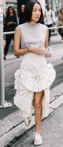 φούστα με σχέδιο