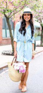 τζιν φόρεμα