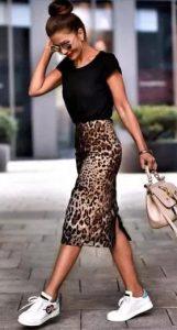 λεοπάρ φούστα