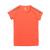 adidas Performance - Κοριτσίστικη κοντομάνικη αθλητική μπούζα adidas πορτοκαλί