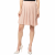 AMERICAN VINTAGE - Γυναικεία φούστα με πιέτες HOLI142E16 AMERICAN VINTAGE ροζ