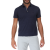 BROOKSFIELD - Ανδρική λινή polo μπλούζα BROOKSFIELD μπλε