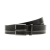 CALVIN KLEIN JEANS - Ανδρική δερμάτινη ζώνη Calvin Klein Jeans ARTHUR μαύρη