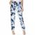 CALVIN KLEIN JEANS - Γυναικείο παντελόνι Calvin Klein Jeans φλοράλ