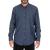 DORS - Ανδρικό denim πουκάμισο DORS μπλε