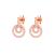 FOLLI FOLLIE - Ασημένια σκουλαρίκια Folli Follie