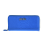FOLLI FOLLIE - Γυναικείο μεγάλο πορτοφόλι με print φιδιού Folli Follie μπλε