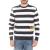 FRANKLIN & MARSHALL - Ανδρική μπλούζα FRANKLIN & MARSHALL μπλε-λευκή