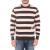 FRANKLIN & MARSHALL - Ανδρική μπλούζα FRANKLIN & MARSHALL μαύρη-ροζ