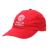 FRANKLIN & MARSHALL - Unisex καπέλο FRANKLIN & MARSHALL κόκκινο λευκό