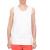 FUNKY BUDDHA - Ανδρική αμάνικη μπλούζα FUNKY BUDDHA λευκή
