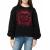 GUESS - Γυναικεία φούτερ μπλούζα GUESS TIGER μαύρη με στάμπα