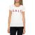 GUESS - Γυναικεία κοντομάνικη μπλούζα Guess λευκή