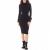 GUESS - Γυναικείο φόρεμα GUESS SABINE μαύρο