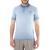 HAMAKI HO - Ανδρική κοντομάνικη πόλο μπλούζα Hamaki Ho γαλάζια