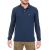 HAMPTONS - Ανδρική μακρυμάνικη πόλο μπλούζα HAMPTONS μπλε