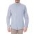 HAMPTONS - Ανδρικό μακρυμάνικο πουκάμισο HAMPTONS MICRO CHECK γαλάζιο