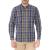 HAMPTONS - Ανδρικό μακρυμάνικο πουκάμισο HAMPTONS BIG CHECK μπλε