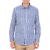 HAMPTONS - Ανδρικό μακρυμάνικο ριγέ πουκάμισο HAMPTONS μπλε-λευκό