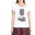IMPERIAL - Γυναικεία μπλούζα IMPERIAL λευκή