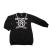 JAKIOO - Παιδικό φόρεμα JACKIOO ST.DREAM+COLLANA μαύρο