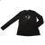 JAKIOO - Παιδικό μακρυμάνικη μπλούζα JAKIOO STAMPA+STRASS μαύρη