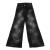 JAKIOO - Παιδικό παντελόνι τζιν JAKIOO JEANS C/STELLE μαύρο