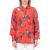 JUICY COUTURE - Γυναικείο μακρυμάνικο πουκάμισο SILK HAYWORTH JUICY COUTURE φλοράλ