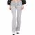 JUICY COUTURE - Γυναικείο παντελόνι φόρμας JUICY COUTURE SOLID ZIP γκρι