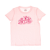 JUICY COUTURE KIDS - Παιδικό t-shirt JUICY COUTURE KIDS CARNIVAL SCRIPT ροζ