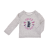 JUICY COUTURE KIDS - Βρεφική μπλούζα JUICY COUTURE KIDS SCOTTIE BUTTERFLY γκρι