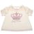 JUICY COUTURE KIDS - Βρεφική μπλούζα JUICY COUTURE KIDS PRINCESS CROWN λευκή