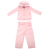 JUICY COUTURE KIDS - Βρεφικό σετ φόρμας JUICY COUTURE KIDS PRINCESS CROWN ροζ