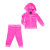 JUICY COUTURE KIDS - Βρεφικό σετ JUICY COUTURE KIDS ροζ