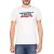 LEVIS - Ανδρική κοντομάνικη μπλούζα LEVIS λευκή