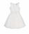 MONNALISA - Φόρεμα MONNALISA λευκό με δαντέλα