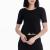 MOTIVI - Γυναικεία μπλούζα MOTIVI μαύρη