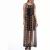 MOTIVI - Γυναικείο φόρεμα MOTIVI μαύρο-μπεζ