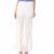 MYMOO - Γυναικεία παντελόνα MYMOO λευκή