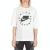 NIKE - Γυναικείο t-shirt NIKE λευκό