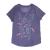 NIKE - Παιδική κοντομάνικη μπλούζα NIKE POOL PARTY JDI μοβ