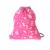NIKE - Παιδικό σακίδιο πλάτης γυμναστηρίου NIKE GMSK - AOP ροζ λευκό