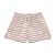 NIKE - Παιδικό σορτς NIKE Sportswear Girls Shorts γκρι ριγέ