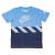 NIKE - Παιδικό t-shirt NIKE AIR HAZARD S/S μπλε