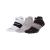 NIKE - Unisex αθλητικές κάλτσες σετ των 3 NIKE DRY CUSH LOW μαύρες-γκρι-λευκές
