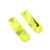 NIKE - Unisex κάλτσες για τρέξιμο Nike ELITE LIGHTWEIGHT QUARTER κίτρινες