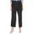 NUMPH - Γυναικεία πλισέ παντελόνα NUMPH μαύρη