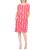 NUMPH - Γυναικείο mini φόρεμα NUMPH κόκκινο ροζ